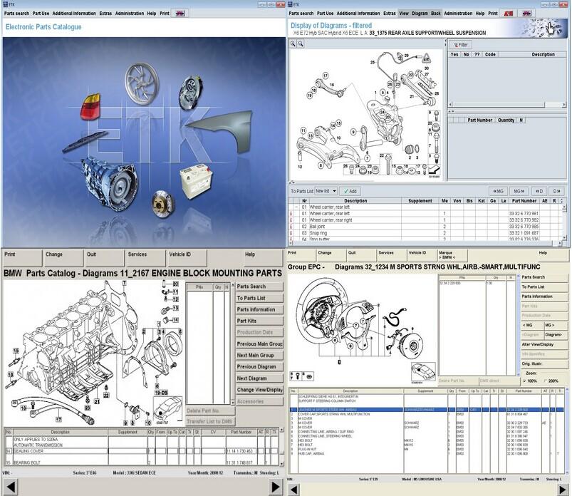 logiciel etk bmw