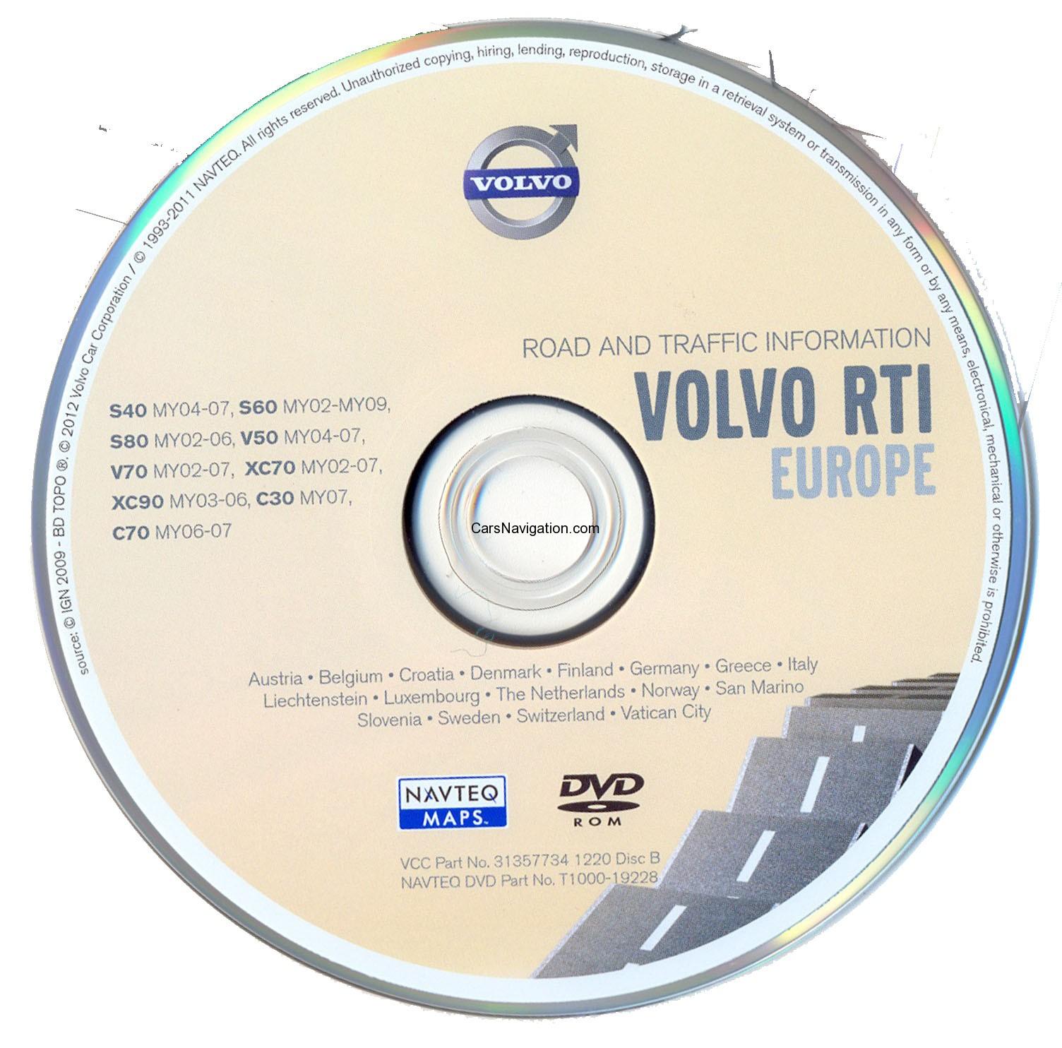 Volvo Rti 2014 Europe Mmm P2001