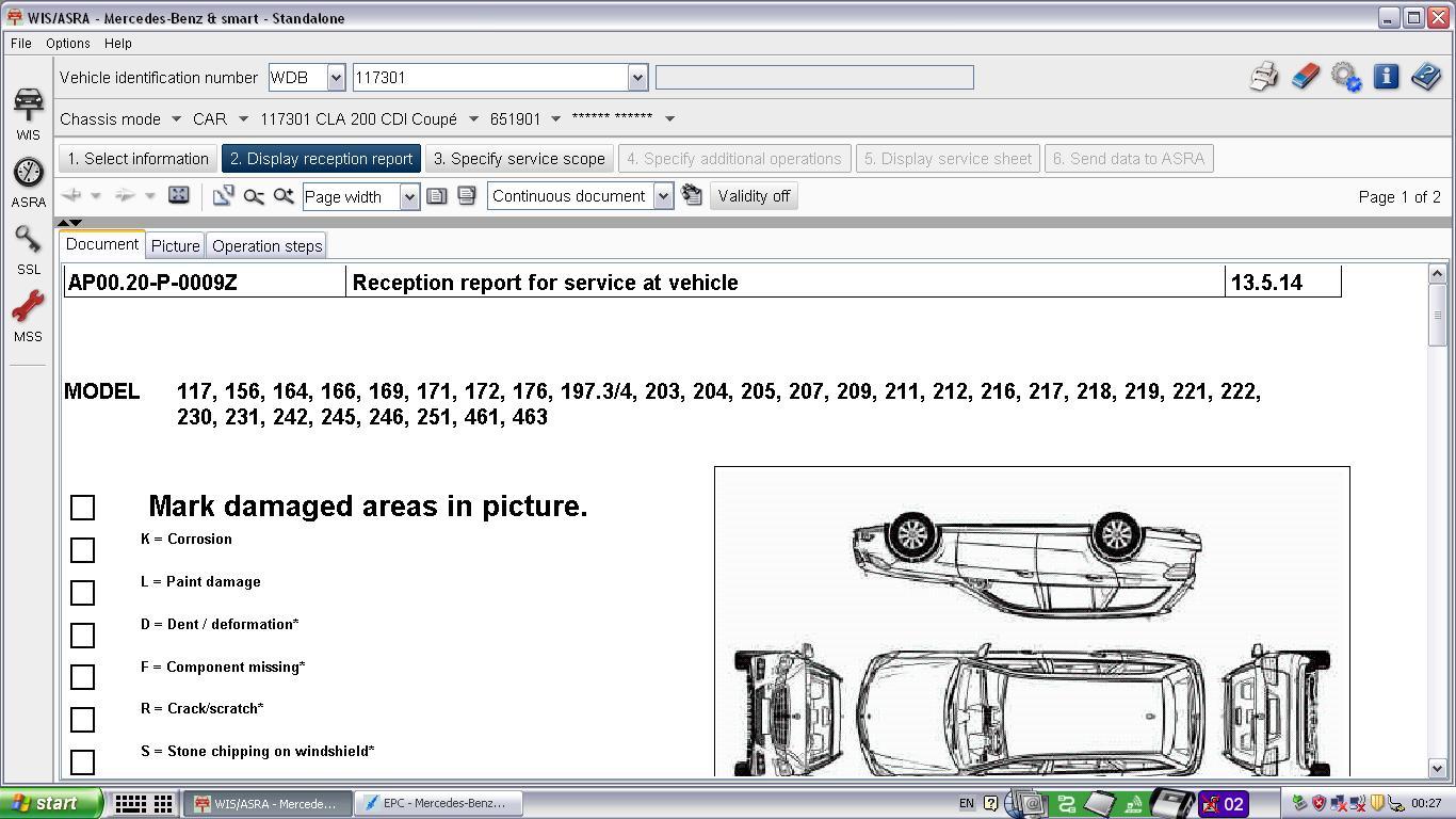 Mercedes WIS, Mercedes Benz WIS, Mercedes WIS Download