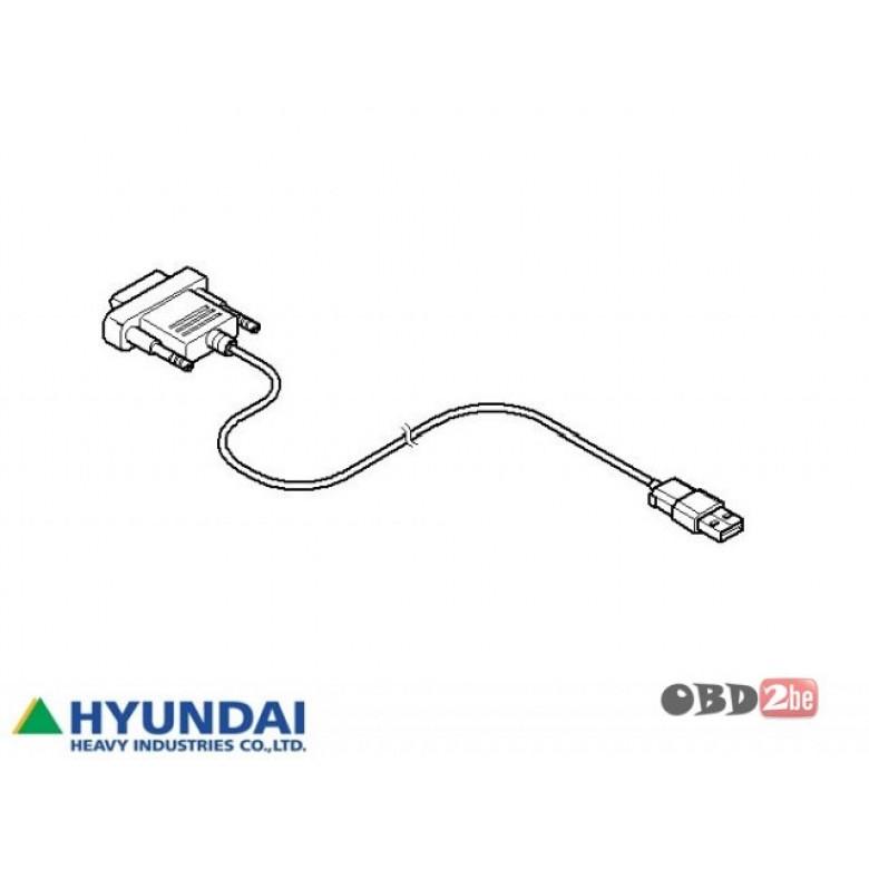 hyundai robex diagnostic tool  hrdt   hyundai diagnostic