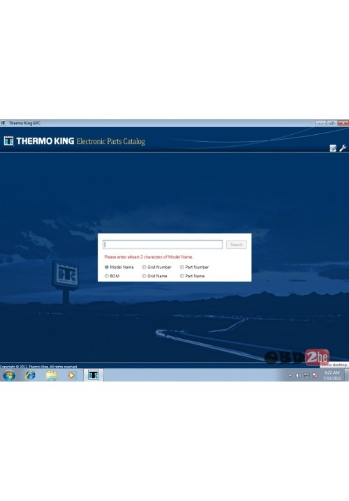 Thermo King 2012