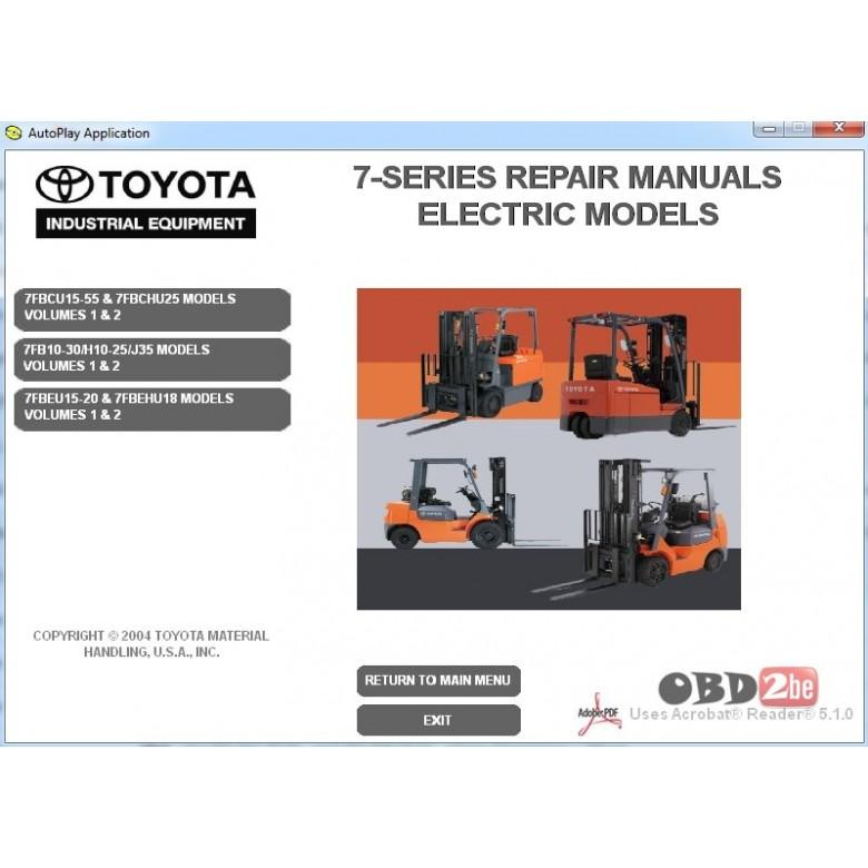 Toyota Forklift 7