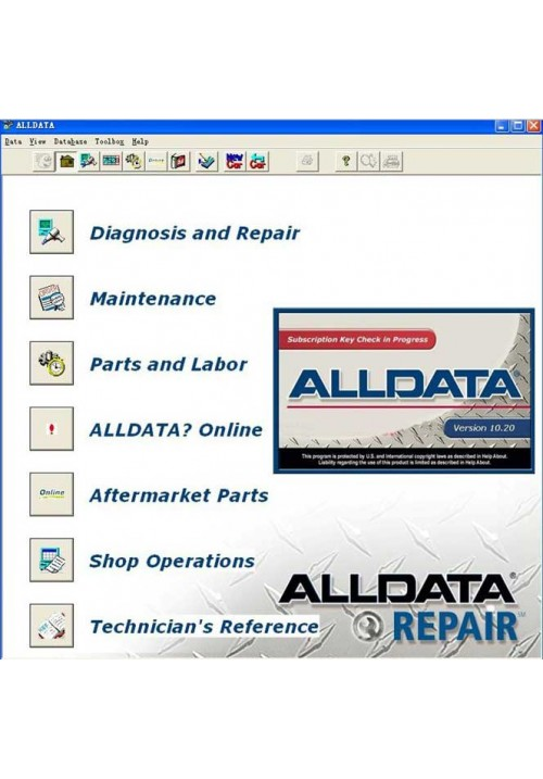 Alldata 10.20 and 2010 Mitchell ondemand 5 WIS Workshop Data