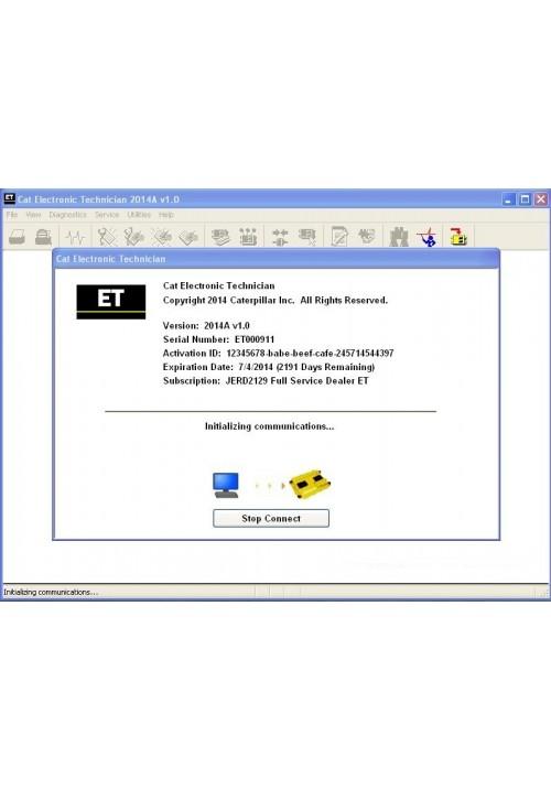 Caterpillar Electronic Technician ET