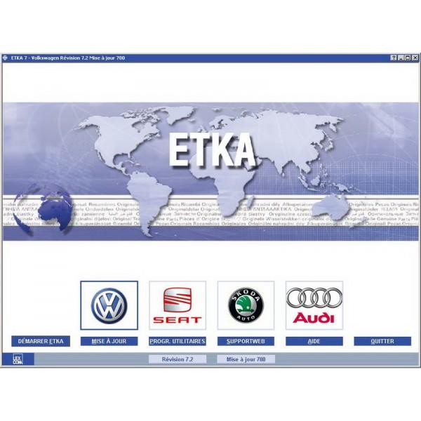 ETKA VW Audi Seat Skoda