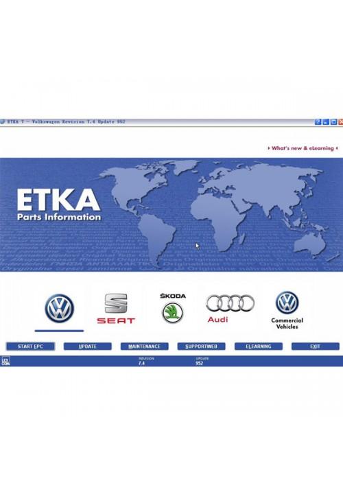 Audi VW Seat Skoda ETKA 7.4