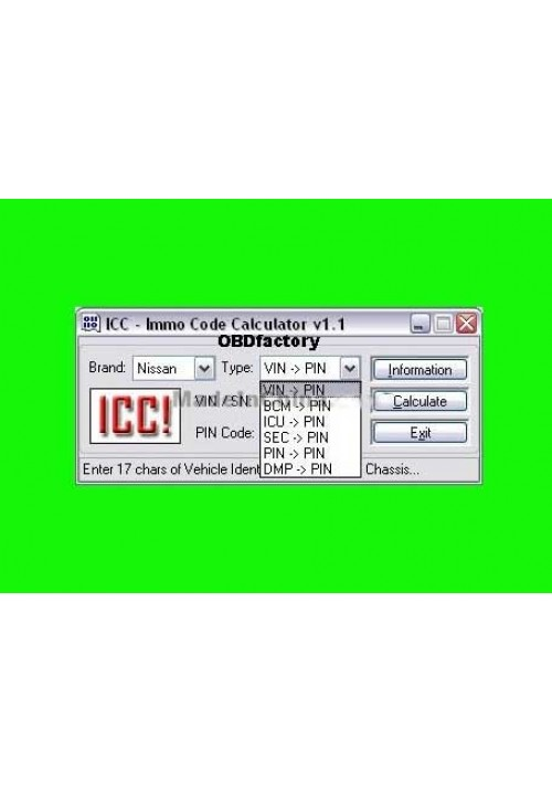Original ICC IMMO Calculator