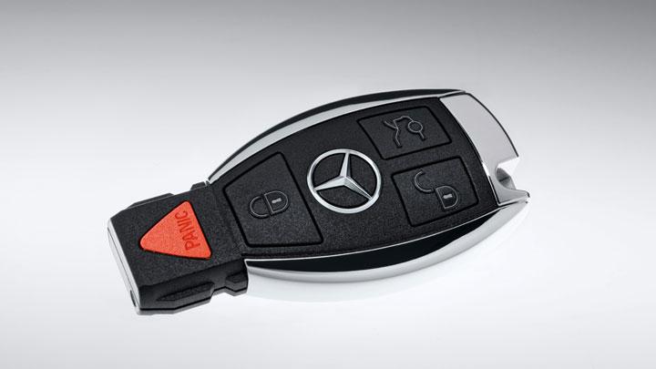 Mercedes car key for Mercedes benz car key