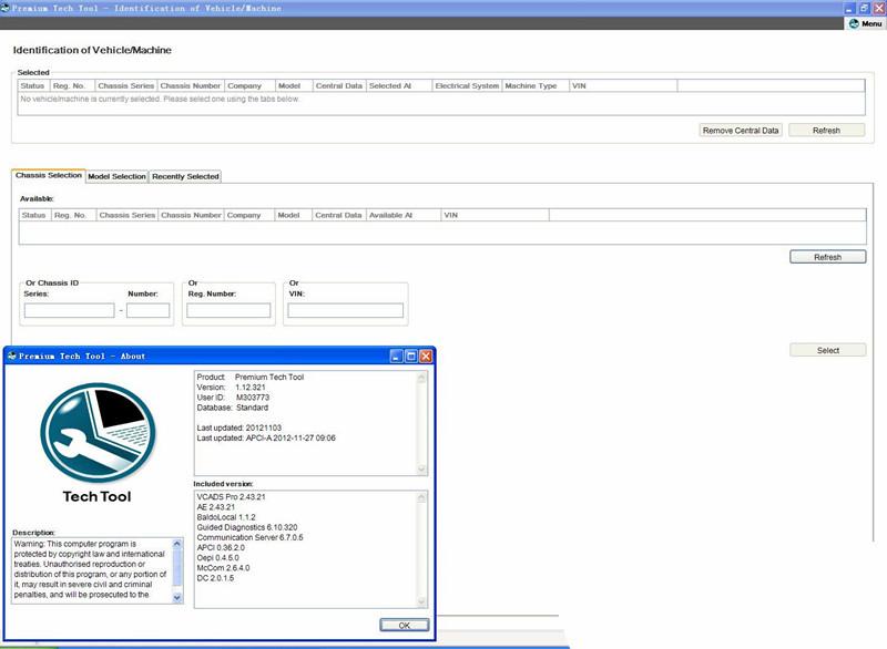 Volvo tech tool 2.7