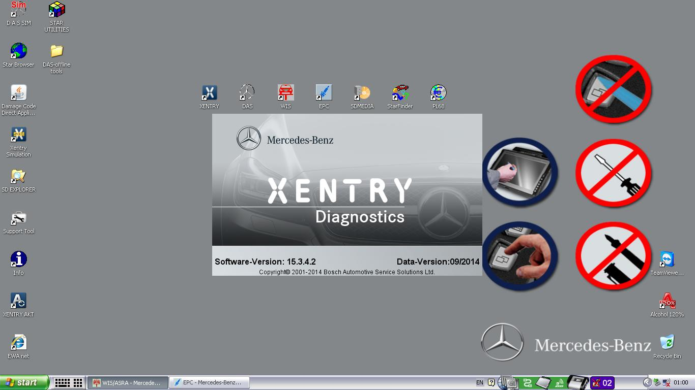 Mercedes Xentry Latest version